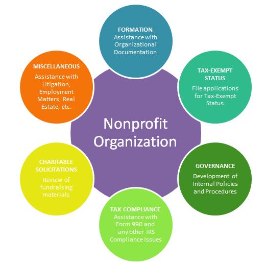 non profit organization structure pdf